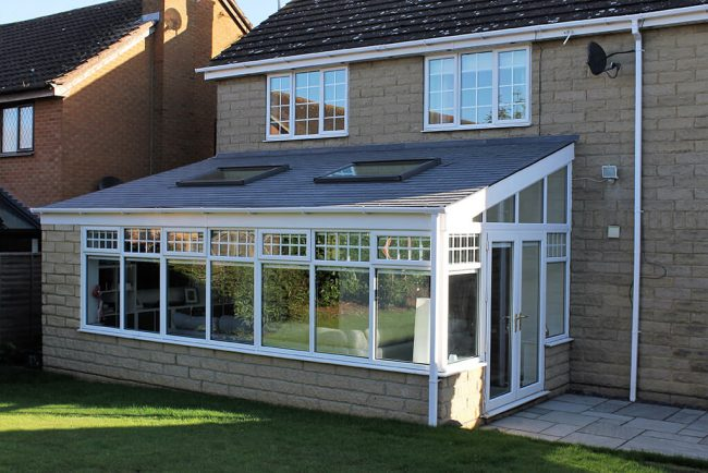 Conservatory roof for the Denhams