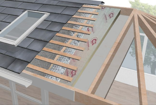 Conservatory roof tech 1